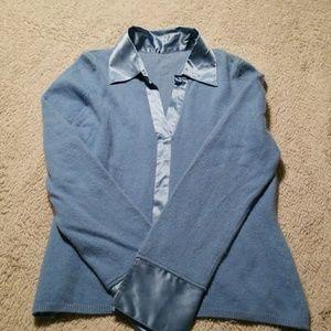 Inc light blue sweater